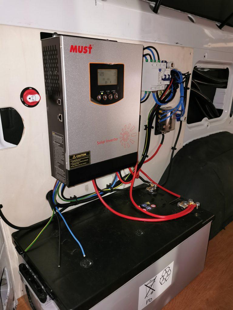 Instalacion Electrica camper