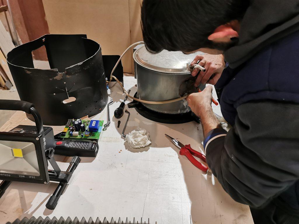 Reparar boiler truma 10L