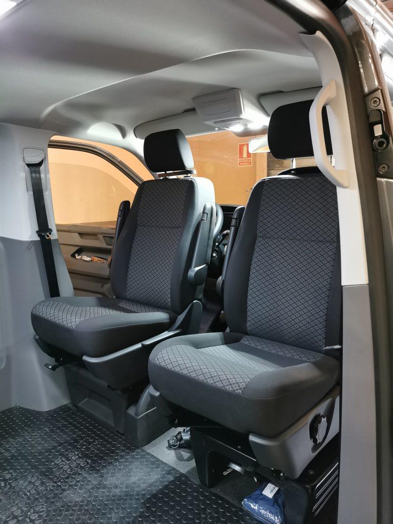 BASES GIRATORIA VW T5